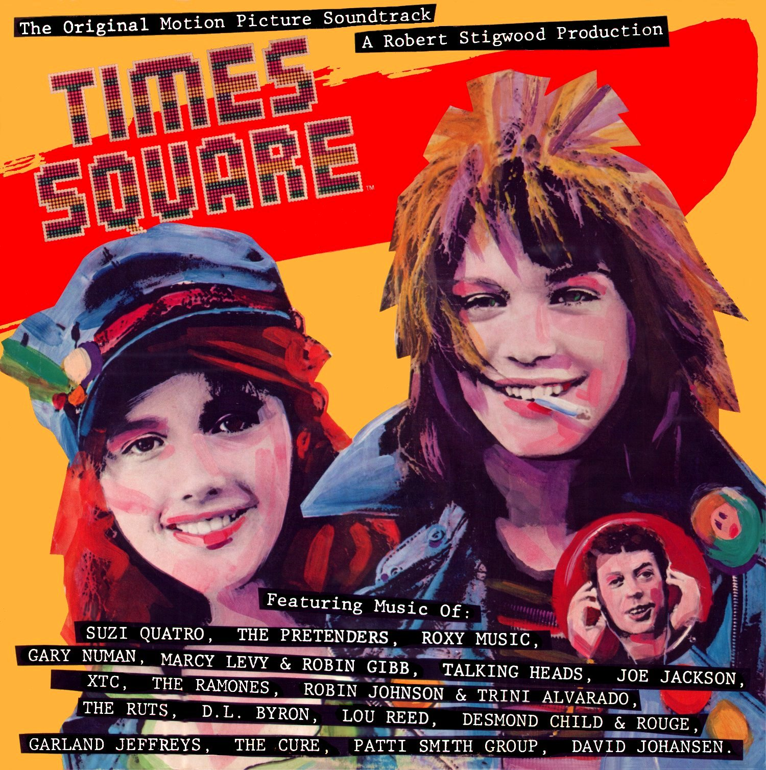 Times Square - Soundtrack - 1980 Front